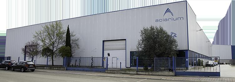Aciarium - La fábrica